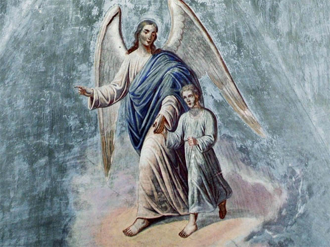 Мужчина и ангел