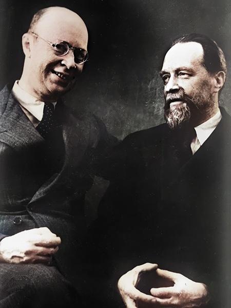 Николай Мясковский и Сергей Прокофьев