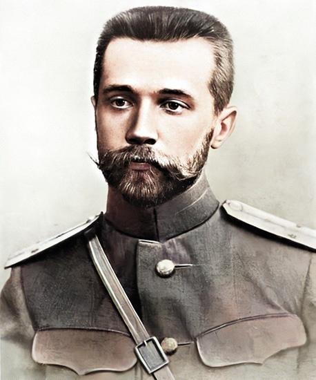 Николай Мясковский в молодости