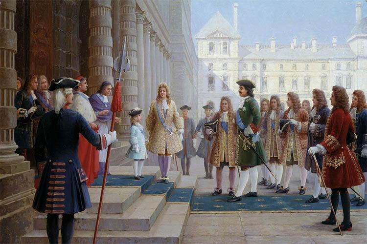 Петр I в Европе