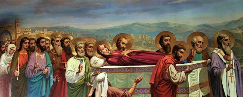 Процессия с с Пречистым телом Пресвятой Богородицы