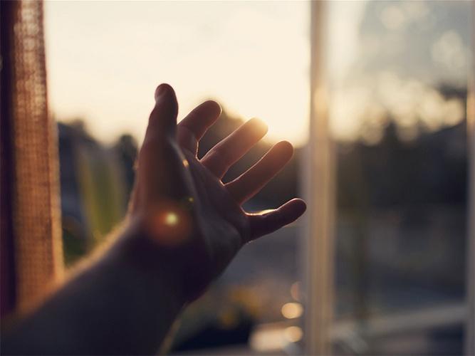 Рассвет в окне