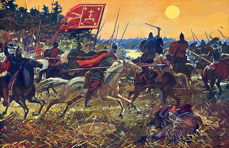 Сражение на реке Воже