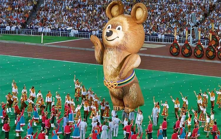 Церемония закрытия Олимпийских игр 1980