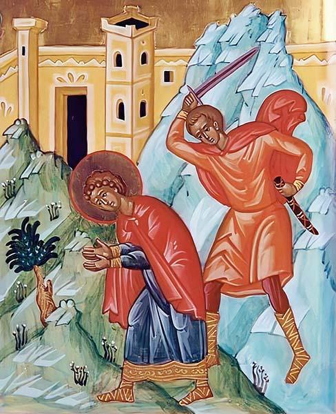 Усечение главы Великомученика и Целителя Пантелеимона