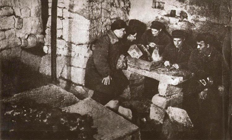 В одесских катакомбах