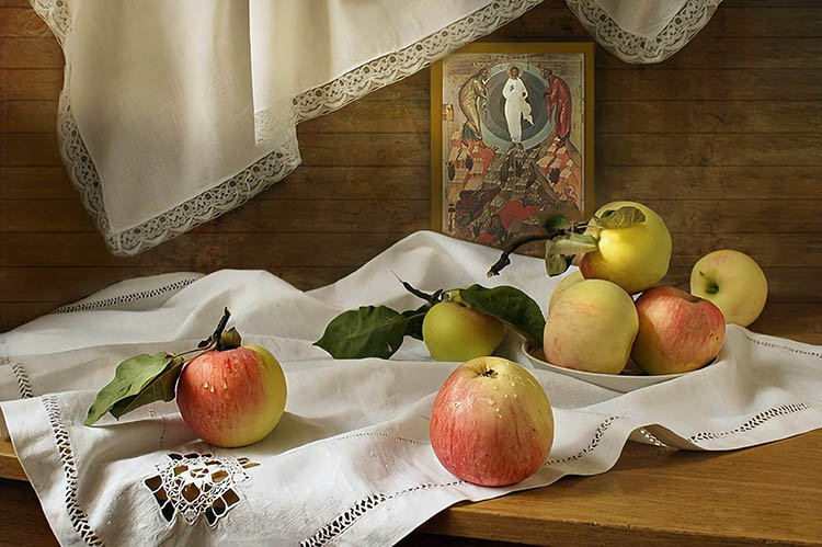 Яблоки на Преображение Господне