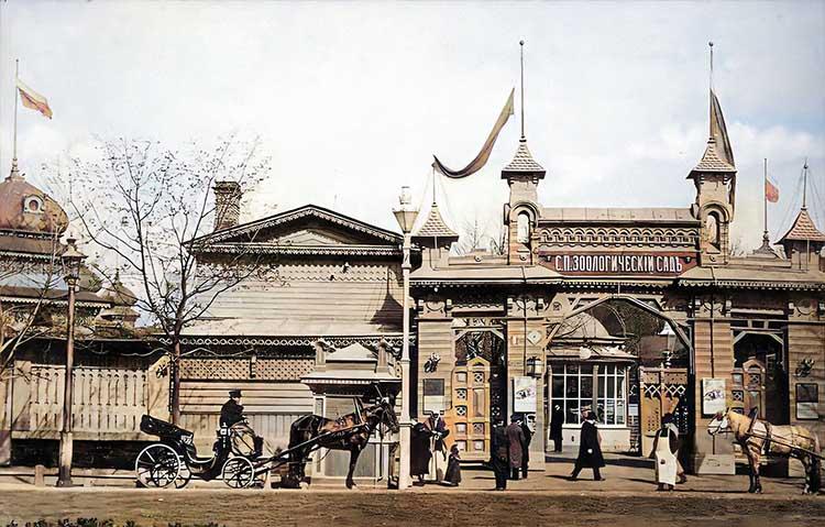 Зоологический сад в Санкт-Петербурге