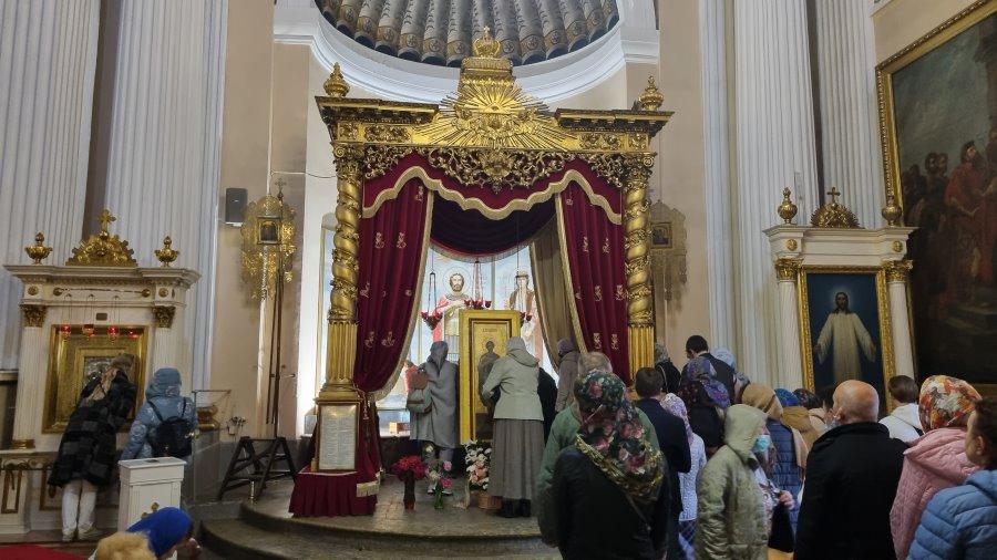 Мощи святого благоверного князя Александра Невского
