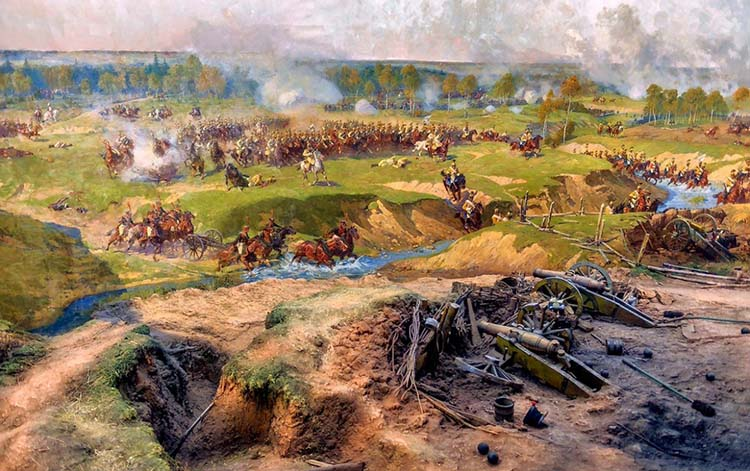 Битва на Бородинском поле