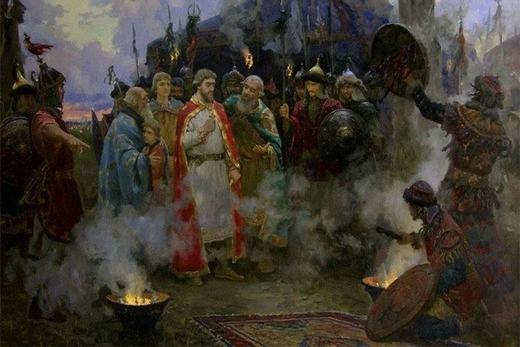 Благоверный князь Александр Невский в Золотой Орде