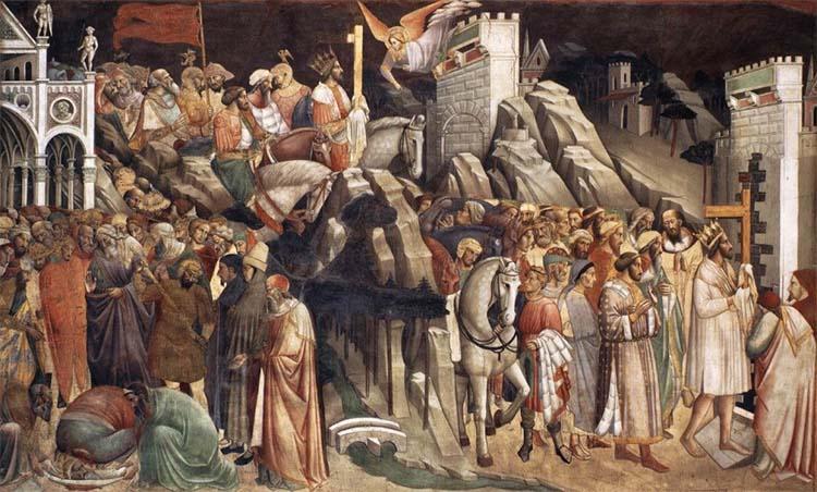 Император Ираклий возвращает Крест в Иерусалим