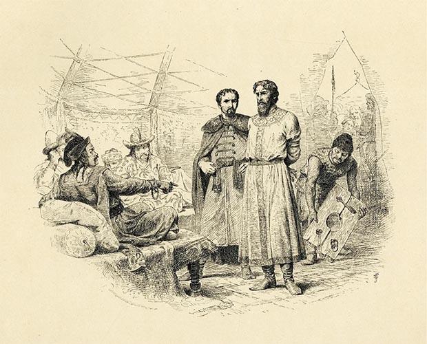 Князь Михаил Ярославич у хана Узбека