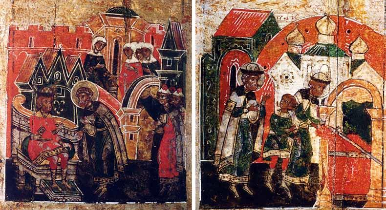 Князь Петр обретает Агриков меч
