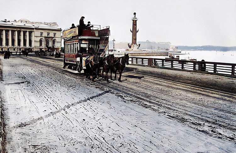 Конка Санкт-Петербурга