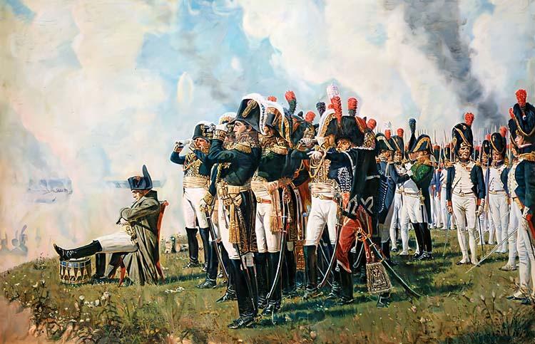 Наполеон на Бородинском поле