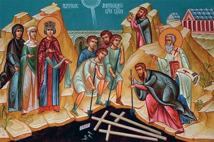 Обретение Животворящего Креста Господня