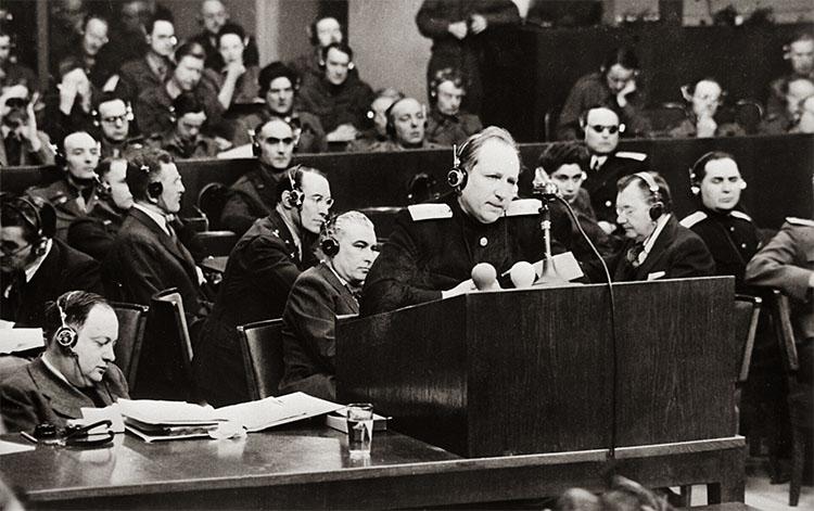 Обвинитель Руденко на Нюрнбергском суде