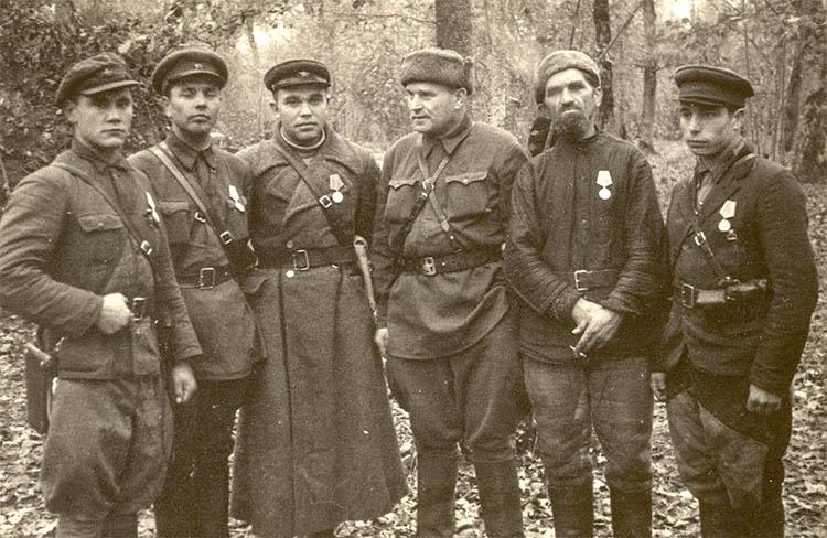 Партизанский отряд Василия Коржа