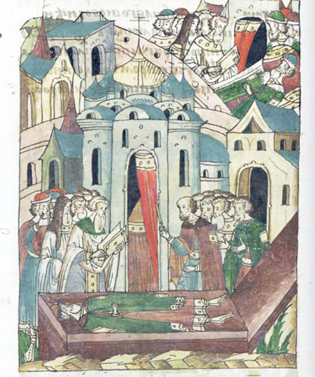 Смерть князя Симеона Гордого
