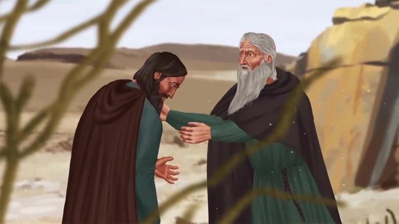 Старец и его ученик