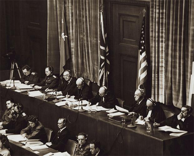 Судьи Нюрнбергского трибунала