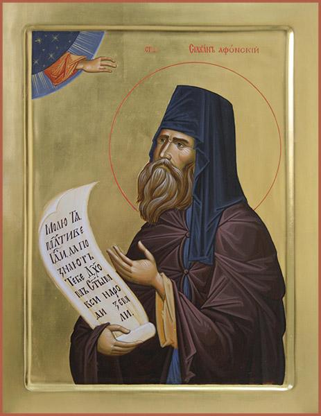 Святой преподобный Силуан