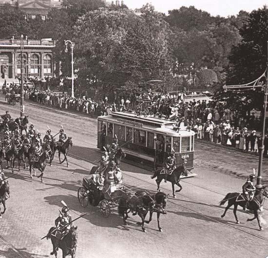 Трамвайное движение в Петербурге