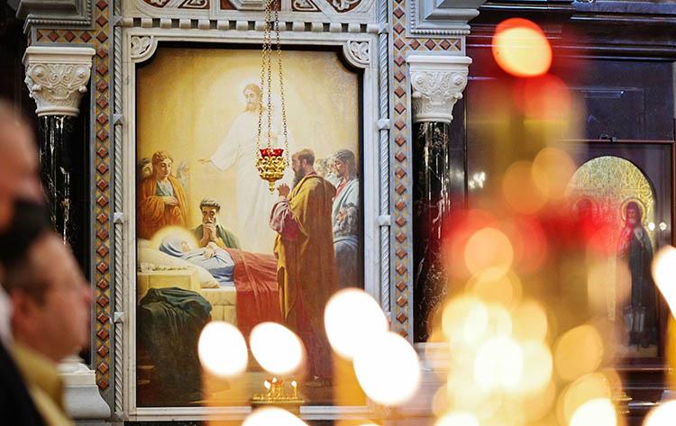 Успение Пресвятой Богородицы в храме