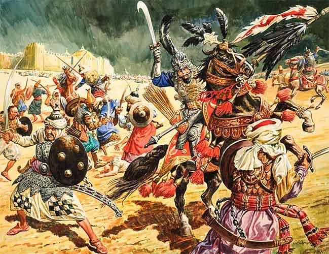 Война Тимура с Тохтамышем