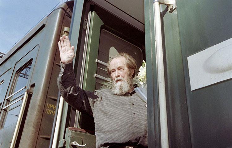 Возвращение Солженицына в Россию