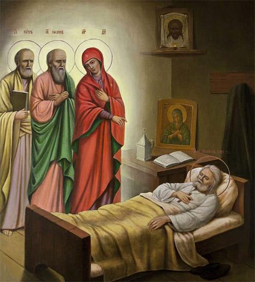 Явление Богородицы Серафиму Саровскому