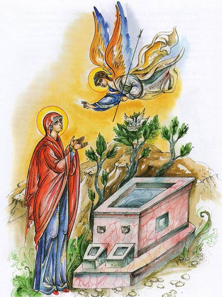 Явление ангела праведной Анне