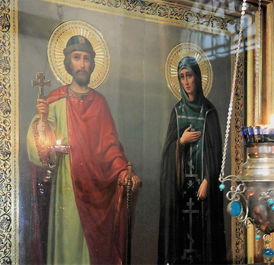 Благоверный князь Михаил Тверской и благоверная княгиня Анна Кашинская