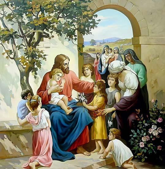 Христос и дети