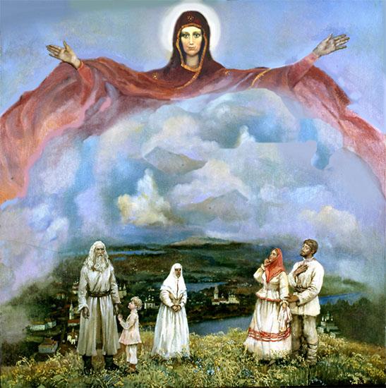 Покров Божией Матери на Руси