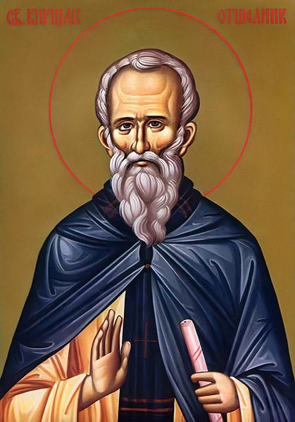Святой преподобный Кириак Палестинский, отшельник