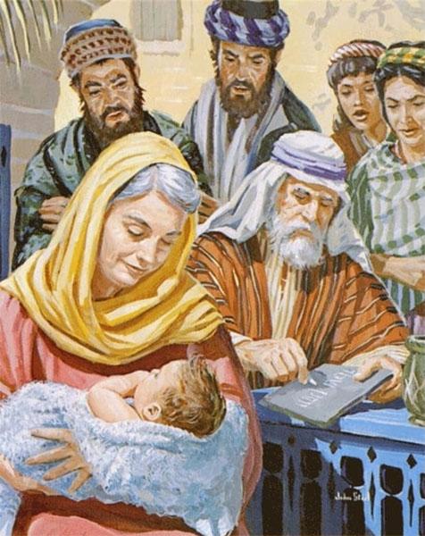 Захария пишет имя на дощечке